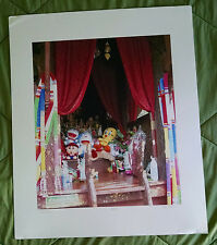 Original Large Thai Print Titled and Signed by Steve Brown, Artist Proof # 1
