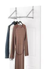 Closet Over The Door Rod Clothes Storage Adjustable Furniture Hager Rack Shelf