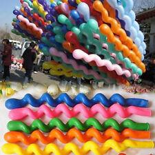 100 Largo Magia Trenzado Modelando El Globo Globos Boda Cumpleaños Niños