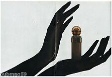 Publicité Advertising 1972 (6 pages) Parfum Audace par Rochas