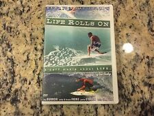 LIFE ROLLS ON VERY GOOD DVD SURFING KELLY SLATER, ANDY & BRUCE IRONS, TAJ BURROW