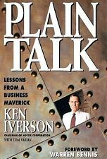 Plain Talk : Lessons from a Business Maverick by Tom Varian and Kenneth E....