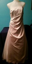 Formal gown from David's Bridal, wedding, prom dress