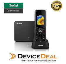 Yealink W52P Wireless HD Business IP-DECT VOIP SIP Phone.Includes Base Station