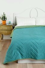 Urban Outfitters Magical Thinking Zigzag  QUILT Twin XL with Sham  REVERSIBLE
