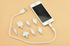 8 in 1 Universal Travel USB Mobile Phone Car Charger Kit for Nokia Samsung SONY