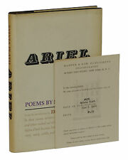 Ariel ~ by SYLVIA PLATH ~ Rare Review Copy ~ First US Edition 1st Printing 1966