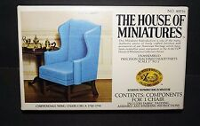 "THE HOUSE OF MINIATURES 1/12 Chippendale Wing Chair #40016 1"" to 1'"