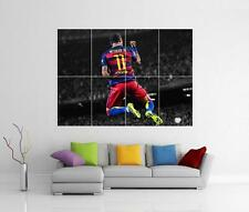 NEYMAR JR BARCELONA BARCA FC BRAZIL GIANT WALL ART PICTURE PHOTO POSTER