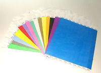 Plain Coloured Tyvek Paper Wristbands For Events/Parties/Security/Festivals
