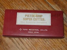 Vintage Toyo Pistol Grip Super Glass Cutter