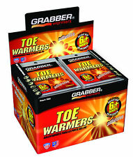 80 Grabber 40 Pairs 6 + Hours Adhesive Toe Warmers EXP 03/19
