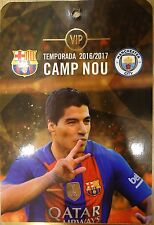 VIP TICKET Pass UCL 2016/17 FC Barcelona vs Manchester City
