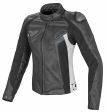 LADIES/WOMEN Motorbike/Motorcycle Racing Jacket Cowhide Leather Jacket Racer