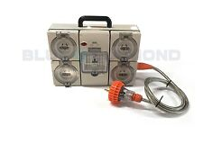 POWER DISTRIBUTION BOARD 3 PHASE WITH 4 RCD/MCB PROTECTED OUTLETS *FREE SHIPPING