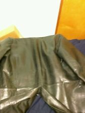 Armani exchange leather jacket 100% real leather