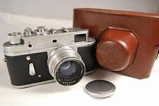 ZORKI-4 USSR Soviet Leica copy camera with Jupiter 8 lens 50mm f/2