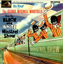 THE GEORGE MITCHELL MINSTRELS On Tour RARE ORIGINAL 1963 LP