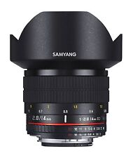 Samyang 14mm F2.8 SONY-e mount lens for both full-frame et aps-C capteur photo