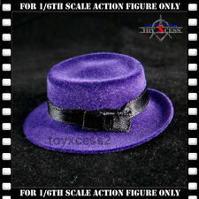 Hot Toys Batman (1989) DX08 JOKER Jack Nicholson 1/6 Figure PURPLE HAT New