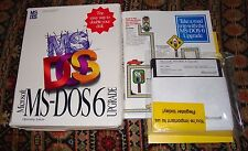 "Microsoft MS-DOS 6 Upgrade 5.25"" - 1993 - Complete!"