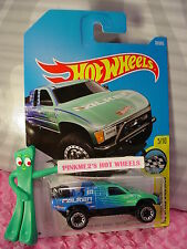TOYOTA OFF-ROAD TRUCK #78☆Blue/green; FALKEN☆Graphics☆2017 i Hot Wheels case D/E