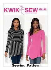 Kwik Sew K4189 Pattern Misses Top XS-XL BN