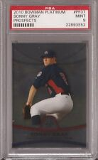 2010 Bowman Platinum Prospects #PP37 Sonny Gray XRC graded PSA 9 Mint