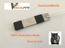 Best Feral Cat Whistle, Hunting Feral Animals, Fox Whistle, Cat Call Aust Made
