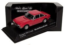 Peugeot 504 Coupe in rot Bj 1974 1:43 Minichamps 400112121 NEU & OVP