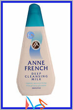 ANNE FRENCH DEEP CLEANSING MILK 200ML FACIAL FACE CLEANSER