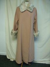 Ladies Coat Windsmoor camel w/faux fur collar & cuffs, UK 12, wool blend 2026