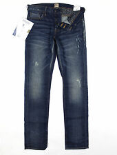 PRPS - Gremlin Mid Blue Ultra Skinny Fit Stretch Jeans W34 L34 - RRP£245