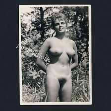 Nudism NUDE WOMAN Outdoor/nude Donna in LIBERA NUDO * VINTAGE 60s PHOTO