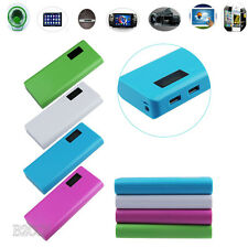USB POWER BANK 5V 2A USB 18650 Battery Box Charger For iphone 6 Note 4