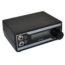 Professional Variable Regulated LCD Digital Screen Tattoo Power Supply Box Black