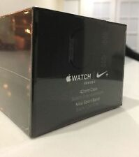 New Apple Watch Series 2 42mm Nike+ Aluminum Space Grey Case Black/Gray