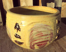 Collector Original Signed Otto Heino 2002 Ceramic Porcelain Yellow Glaze Bowl