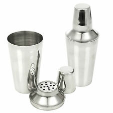 Cocktail Shaker Jigger Mixer Bartender Pub Martini Alcohol Drink Party Bar Steel
