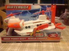Matchbox Mega Power Shift Rescue Chopper, New, In Package, W7087, Helicopter