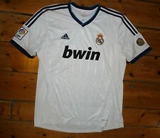 + real madrid shirt XL + + 2013 + home football jersey camiseta maillot maglia