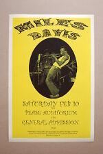 Miles Davis Concert Tour Poster 1973 Pease Auditorium