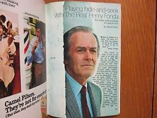May-1971 TV Guide(HENRY  FONDA/THE SMITH FAMILY/PHYLLIS ELIZABETH DAVIS/EARTH II