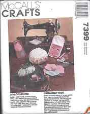 UNCUT Vintage McCalls Pattern Sewing Accessories Pin cushion case 7399 OOP SEW