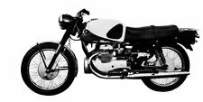 1961 Marusho Lilac MF39 Motorcycle Factory Photo J1980