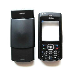 Black NEW Cover Housing Fascia Case Nokia N70+Keypad+T6