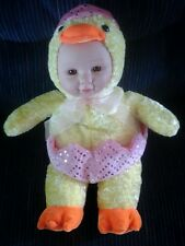 """Easter Chick Plush Baby Hatching Egg Sugarloaf Creations Gift 15"""""""