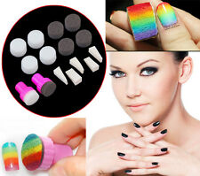 1 Set 15 Pcs Nail  Stamping Sponge Kit NailArt Stamp Art Polish Tool