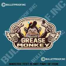 GREASE MONKEY DECAL STICKER RETRO MOTORBIKE MOTORCYCLE MANCAVE TOOLBOX STICKERS