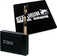 Schlagwerk SET 75 Heck Stick /Side Kick + Keepdrum Cajon Pad GRATIS!